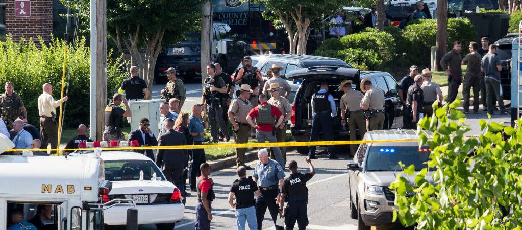 5 Killed At Maryland Newspaper