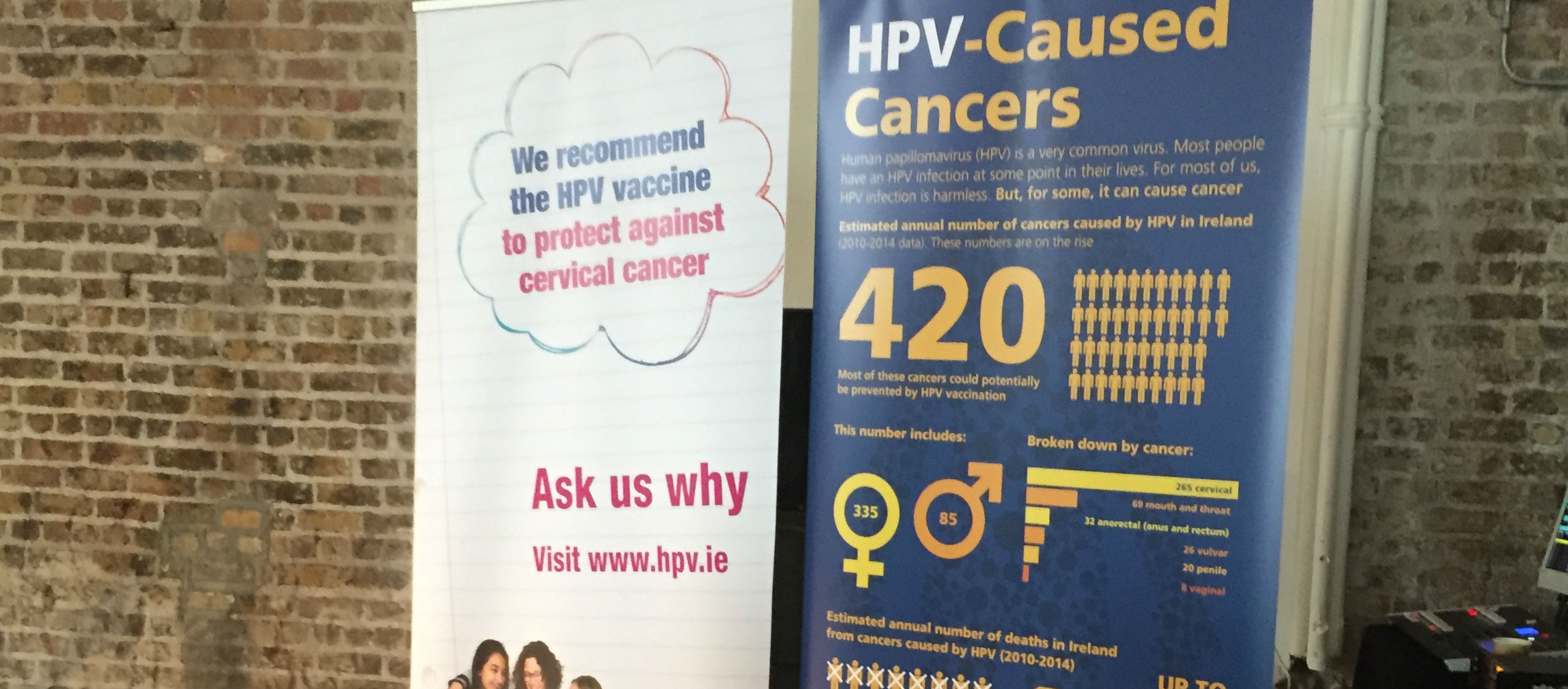 Boys Could Be Given HPV Jab