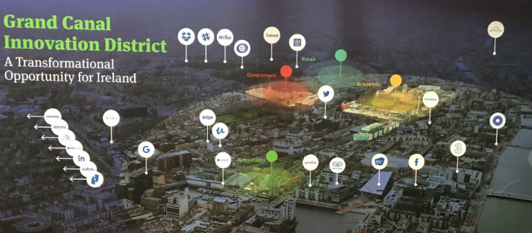 Grand Canal Innovation District Plan Revealed