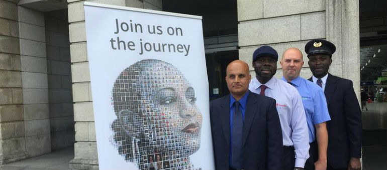 Call for commuters to stand up to racism