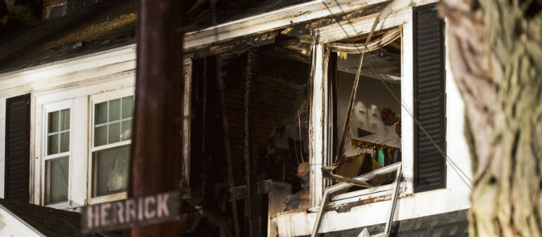 Boston Residents Flee Gas Terror
