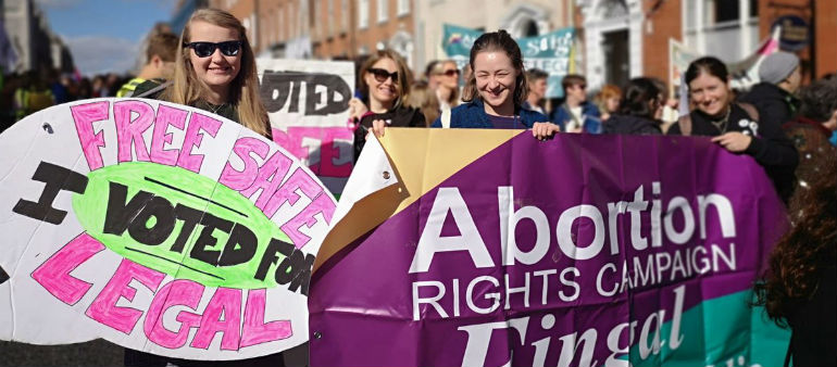 Annual 'March for Choice' calls for government to act