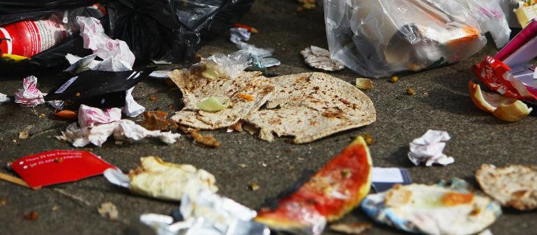 Inner City Fails Litter Test