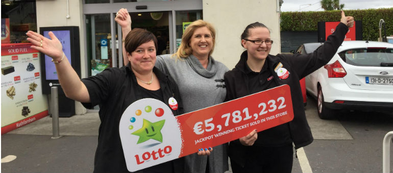 Lotto lolly for Dublin syndicate