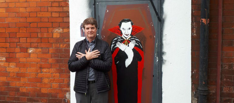 Dracula author honoured in Dublin