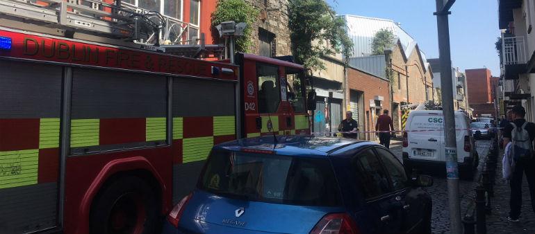 Dublin Fire Brigade Attacked In Dolphin's Barn