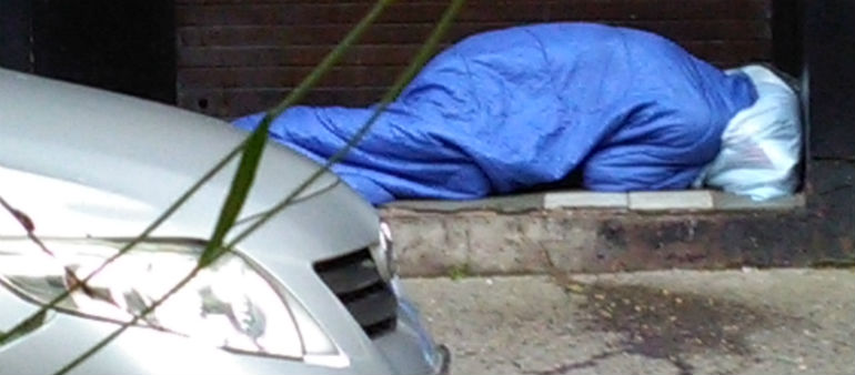 Homeless figures rise again