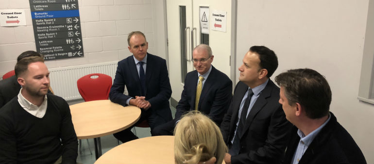 Taoiseach Visits Closed Tyrrelstown Schools