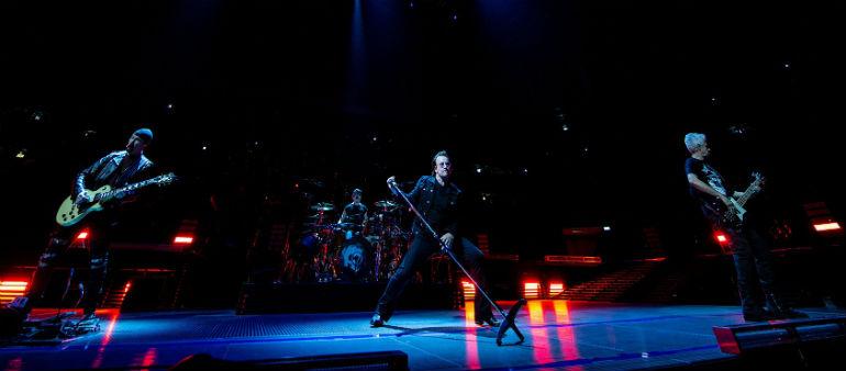 President Joins Fans At U2