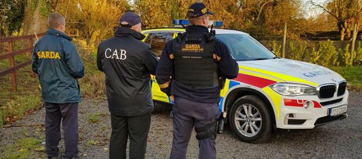 Cars and cash seized in raids in Dublin and Meath