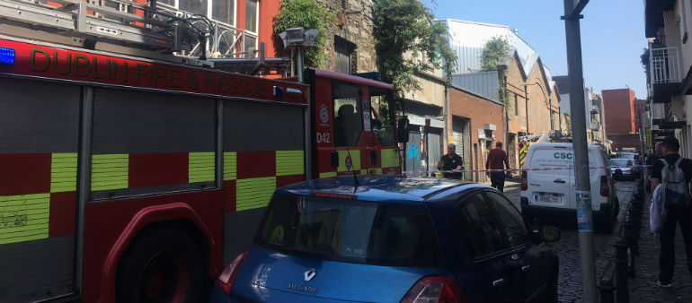 Firefighters Tackle Finglas Incident