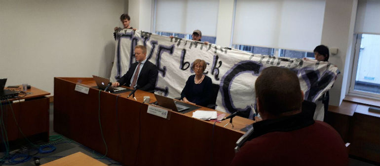 Housing activists occupy Residential Tenancies Board