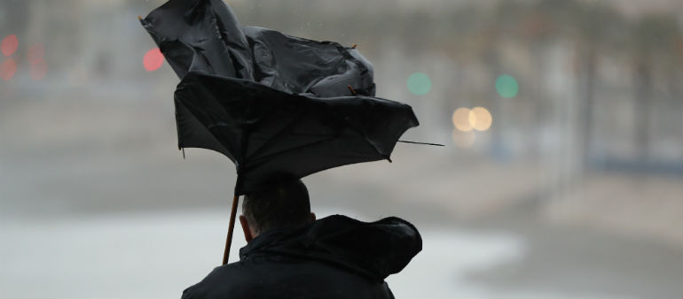 Winds Cause Disruption In Dublin