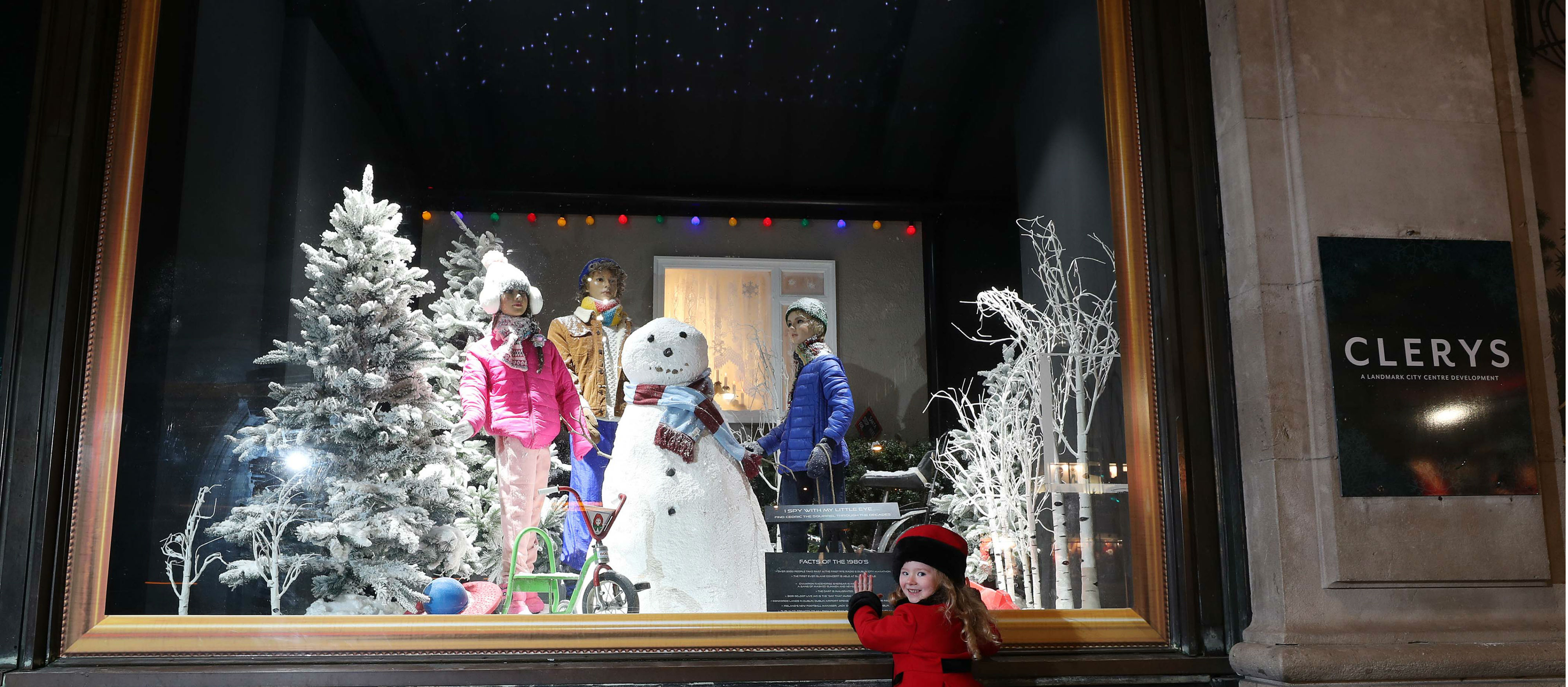 Famous Christmas Windows At Clerys Return