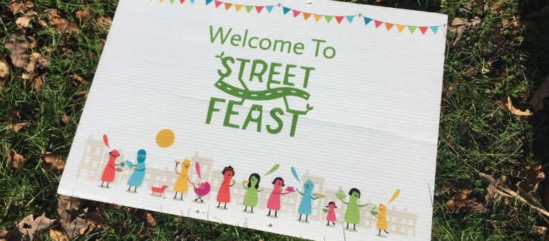 Get to know your neighbour for Street Feast