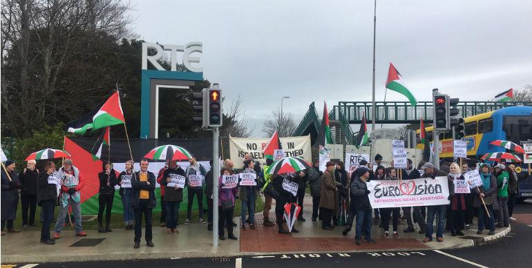 Protestors Call For Eurovision Boycott