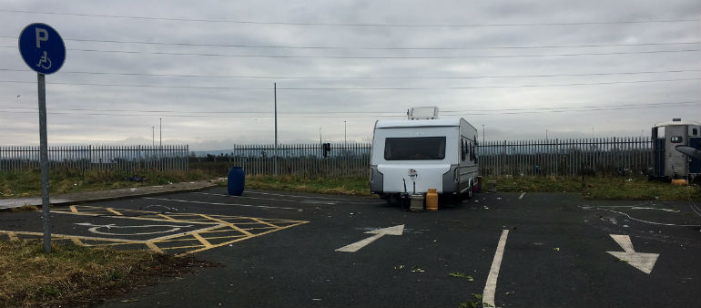 Travellers Face Eviction From Clondalkin Site