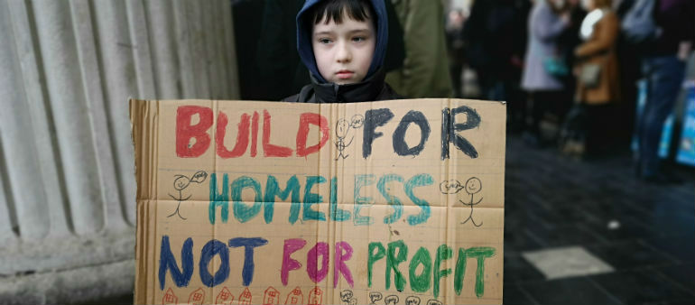 Housing Demo Underway In City