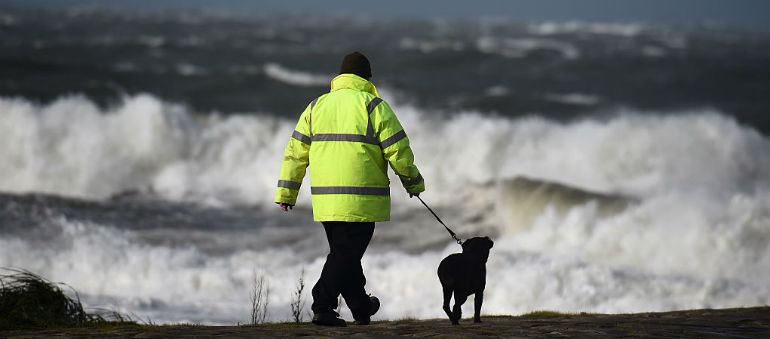Yellow wind warning issued for Ireland