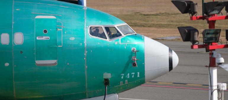 Irish Aviation Authority bans Boeing 737 Max jets
