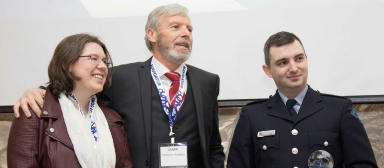 International Award for Dublin Fire Brigade member