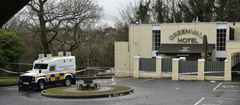 Two men arrested over Cookstown hotel tragedy