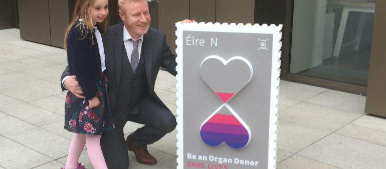 Stamp Encourages Organ Donation
