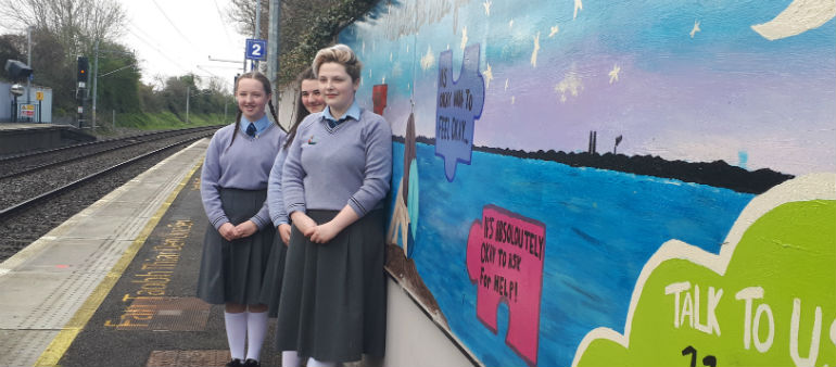 Mural Highlights Mental Health