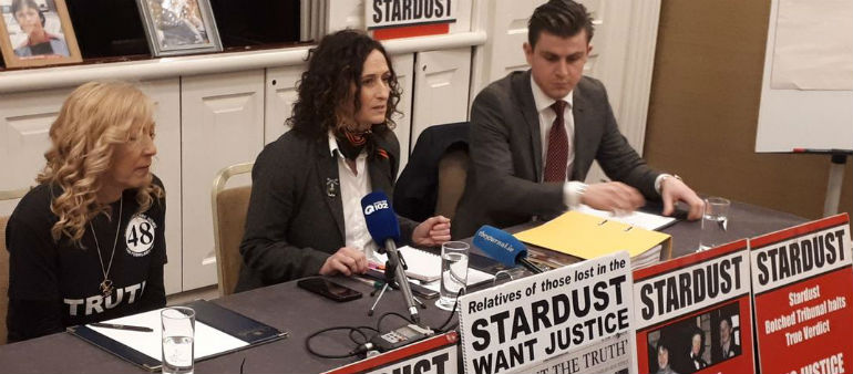 Stardust Campaigners Step up Inquest Fight