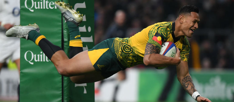 End of the road for Folau with Australia