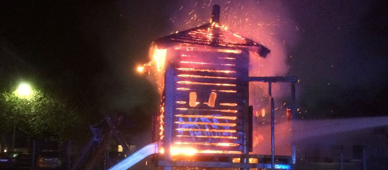 Coolock play area destroyed by fire