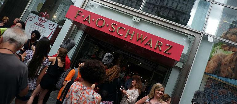 FAO Schwarz is coming to Dublin