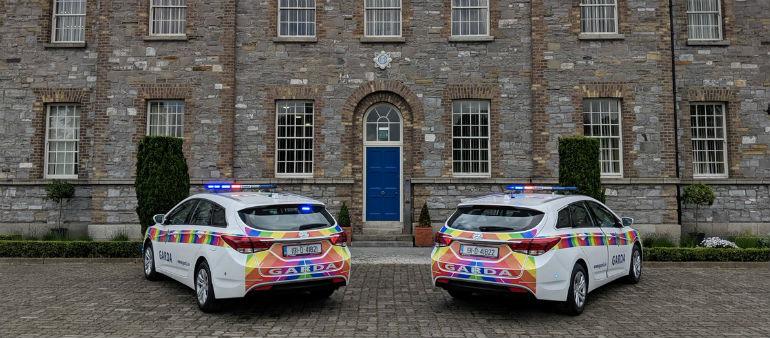 Gardaí show their colours