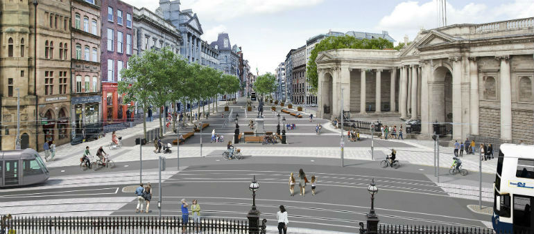 College Green Plaza Trial Is Confirmed