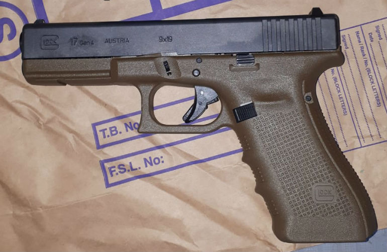 Guns and ammo seized in West Dublin
