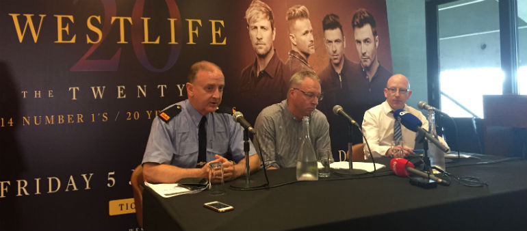 Westlife ready to create World of their Own at Croke Park