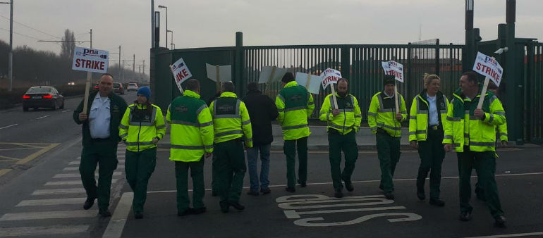 Paramedics Lash Out In Union Row