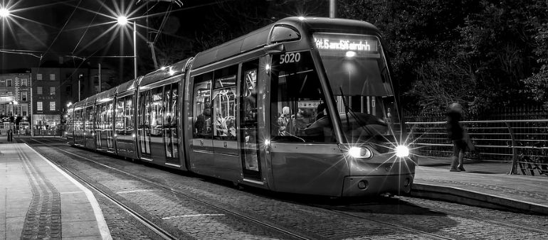 Two injured in row on Luas