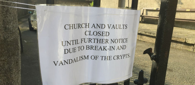 St Michans Crypt To Re-Open