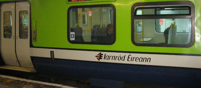 Train Fire Investigated