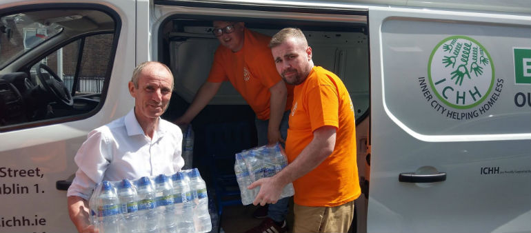 Homeless charity appeals for help in Operation Hydration