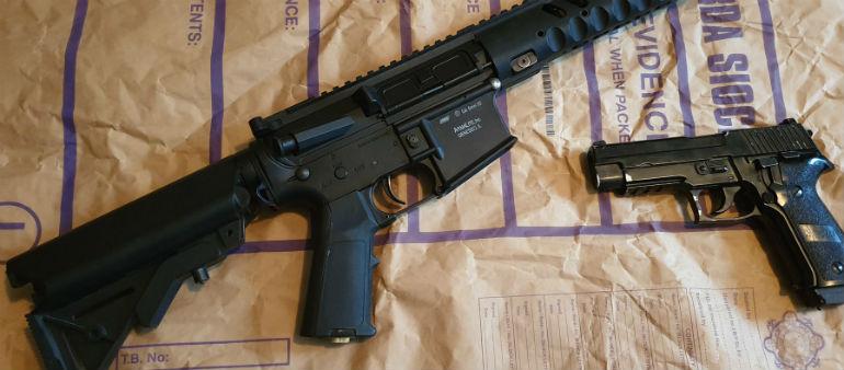 Fake Guns Seized In Scam Raid