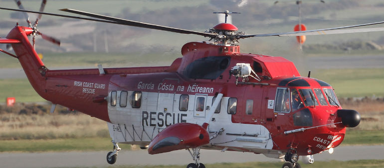 Child rescued off the coast of Portmarnock