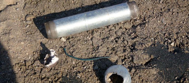 Pipe bomb found in Santry