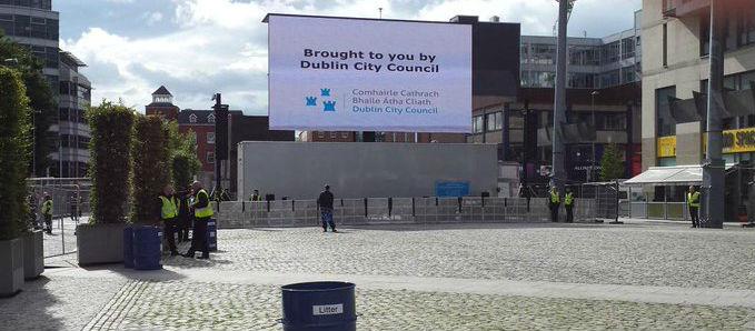 Dublin City Council urged to show All Ireland Final on big screen